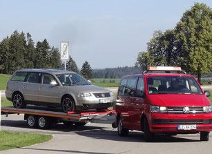 Abschleppdienst und Unfallreparatur, Autohaus feinaigle ind Röthenbach, Allgäu