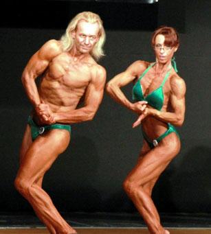 Angelika Dung und Eugen Harms