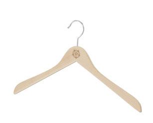 Holz-Kleiderbügel, Hangers for Shirts, Robe Kleiderbügel, Cloth Hangers, Bügel, Holzbügel