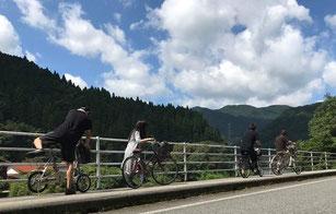 宿泊者限定のレンタル自転車を開始。