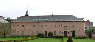 Le Carmel, Maison du patrimoine, façade sur jardin / Crédits photo Mairie d'Abbeville