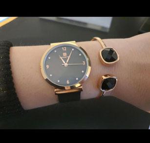 Uhren Uhr dekoster Perlmutt bestellen Shop Schmuck Armbanduhr