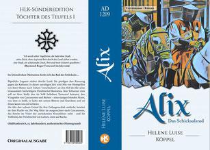 Bild: Umschlagsseite der Roman Alix von Helene Luise Köppel
