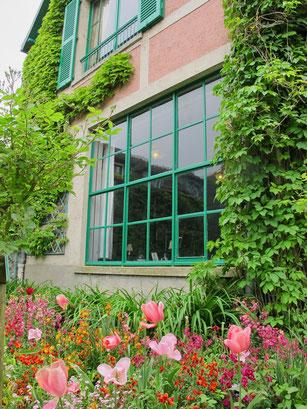 Das Atelier von Monet