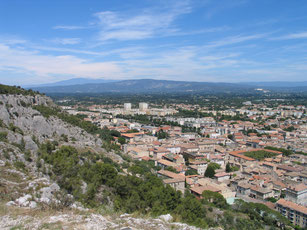 Bild: Colline Saint-Jacques bei Cavaillon