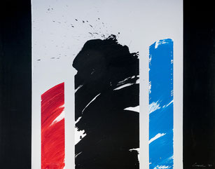 "Peter Lorenz ""Ohne Titel"", 1991, 180 x 140cm, Acryl auf Leinwand. Preis: 4600.-€"