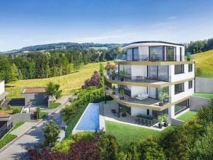 Neubau MFH Rebstockhalde | Luzern