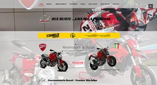 Sito web di Concessionaria Ducati Trentino Alto Adige