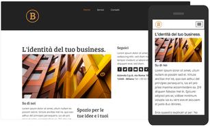 Crea il tuo sito web per business