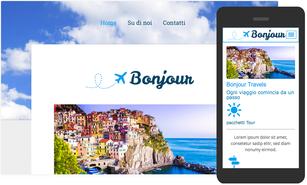 Crea il sito per turismo