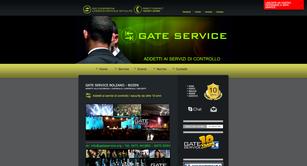 Gate service sito dell'agenzia di sicurezza