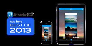 scarica l'app di Jimdo per iOS e Android