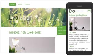 Crea una pagina web per associazione