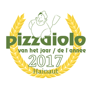 la bottega della pizza élue meilleure pizzeria de la région du Hainaut 2017 lors du grand concours des meilleurs pizzaiolo de Belgique organisé par Foodprint