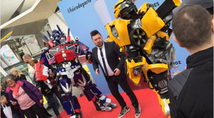 transformers animation foiredeparis , chris marques , paris