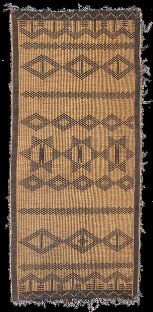 Tuareg Mat. Algeria, Algérie. Kelim Teppich. Zürich. Berberteppich, berber rug, tapis berbère. Tapis et kilims nomades.  Zurich Suisse, www.kilimmesoftly.ch