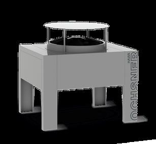 Luft-Wasser-Wärmepumpe Ochsner Air Hawk von bern.solar