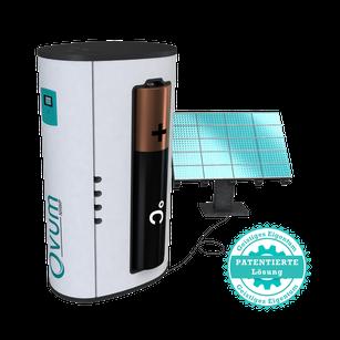 Sole-Wasser-Wärmepumpe Ovum von bern.solar