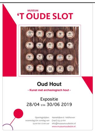 expositie Oud Hout  Museum 't Oude Slot Veldhoven Ellen Eva Brouwers www.hetmaagdenkabinet.nl