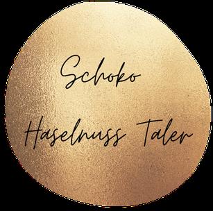 Schoko Haselnuss Taler