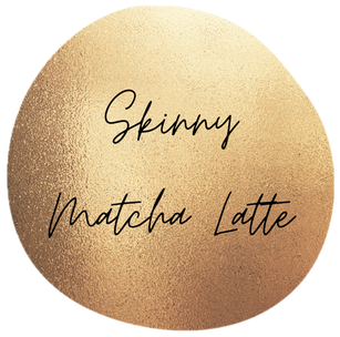 Skinny Matcha Latte