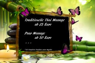 Unser Massage - Angebot für Sie