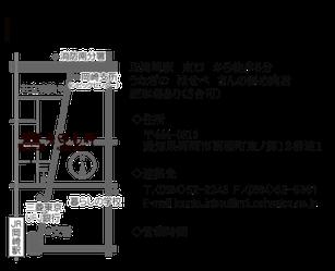 神尾印房 アクセス 地図