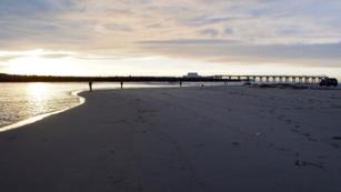 Ota river estuary