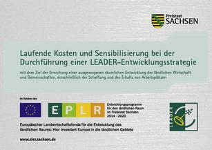 Hinweis, dass das Regionalmanagement aus dem Europäischen Landwirtschaftsfonds gefördert wird