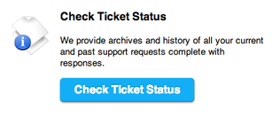check ticket status