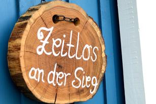 """Ferienhaus """"Zeitlos an der Sieg"""" in Windeck am Natursteig Sieg"""