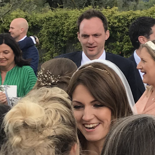 Kate's easy to spot, Jim being embraced in the background! 140 people makes getting a picture difficult.