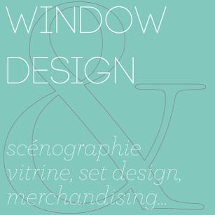 conception creation, set design decor scénographie, retail, vitrine, merchandising, window display