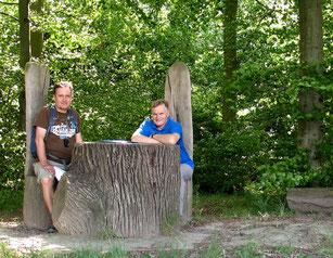 Erzählplatz des Spielbergers Waldkulturpfad
