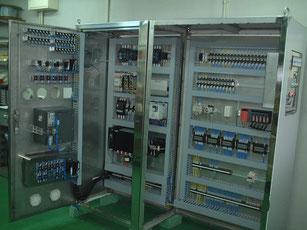 制御盤製作の写真集です。クリックしてくださいYDKテクノで制作しました制御盤の写真が見れます。