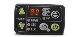Die Yamaha LCD Anzeige zeigt dem Fahrer die wesentlichen Fahrdaten