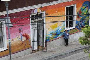 la mamie de Valparaiso