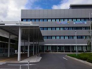 稲敷市役所の外観