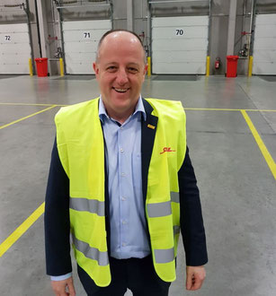 David Bellon, DHL-GF's Director Airfreight Belgium   -  pictures: ms