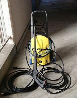 アパート管理 高圧洗浄機