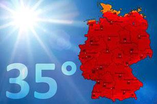 Neue Hitzerekorde möglich – Hoch Gerd bringt uns den lang ersehnten Somme, Foto: WetterOnline