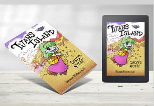 Titans Island: Sally's Quest - Graphic Novel