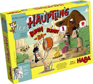 Rezension: Kinder-Brettspiel Häuptling Bumm-ba-bumm