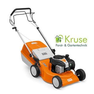 Rasenmäher 46 cm Schnittbreite mit Radantrieb von Kruse Gartentechnik Petershagen.
