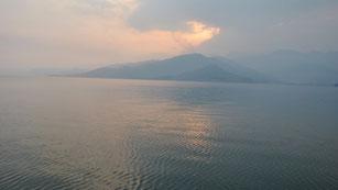 Lago Kivu en la República Democrática del Congo. / UAB