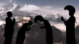 Una imagen del primer episodio de 'Mujeres viajeras', dedicado a Alexandra David-Néel.