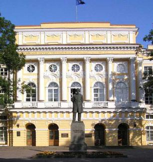 Der Palast der Familie Rasumowski