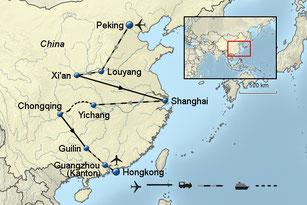 Rundreise China Peking Shanghai und Hongkong 2018