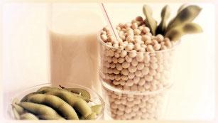 healthy soy milk
