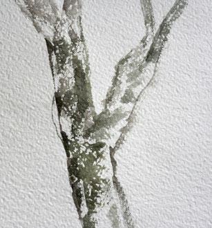 Granuliertechnik, Aquarellmalerei